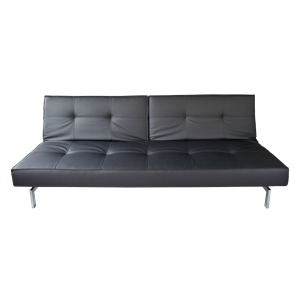 Lounge sofa duo zwart
