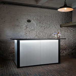Modus Bar - 9m60 Wit - Zwart top