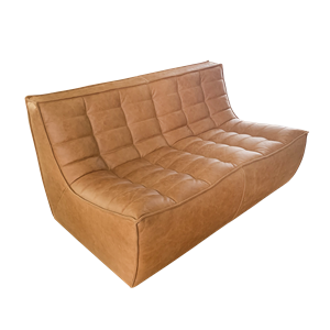 Sofa Duo cuir Ethnicraft