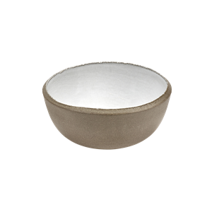 Bowl cement wit 15x6cm