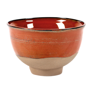 Bowl Merci n°2 grand 15cm rouge
