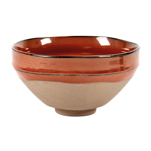 Bowl Merci n°3 grand 15cm rouge