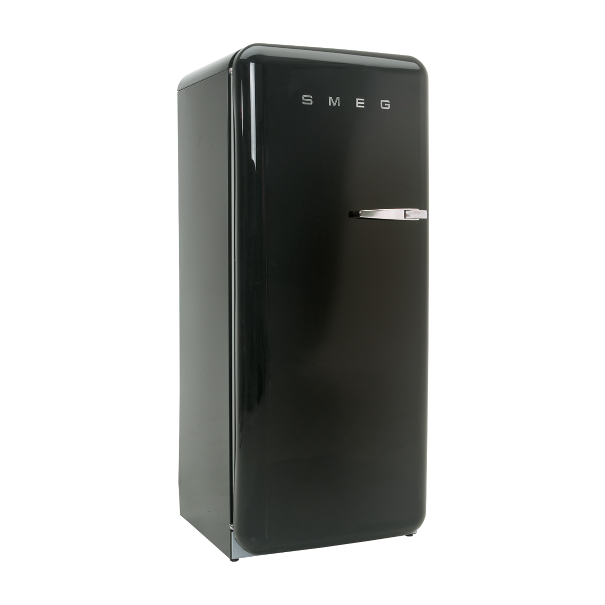 frigo retro smeg noir femat pour ma f te je suis par. Black Bedroom Furniture Sets. Home Design Ideas