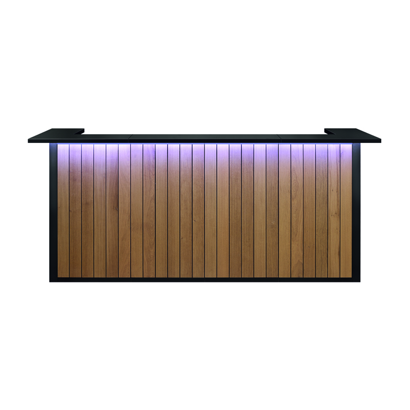 Modus Bar - 7m20 Eik - Zwart Top
